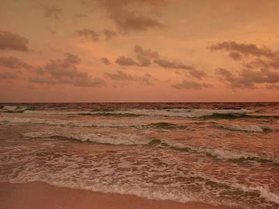 Surf - Florida Poster by Sandy Keeton
