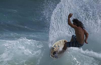 Surf Kauai Poster by Bonita Hensley