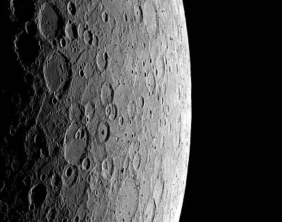 Surface Of Mercury Poster by Nasa/johns Hopkins University Applied Physics Laboratory/carnegie Institution Of Washington