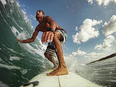 Surfer Poster by Assaf Gavra