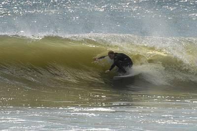 Surfing 437 Poster by Joyce StJames