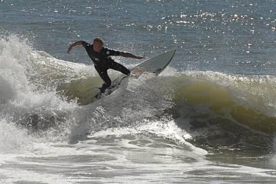 Surfing 446 Poster by Joyce StJames