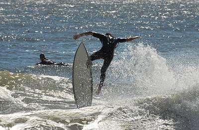 Surfing 447 Poster by Joyce StJames
