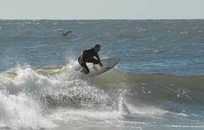 Surfing 451 Poster by Joyce StJames