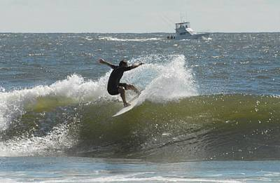 Surfing 454 Poster by Joyce StJames