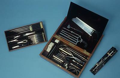Surgery Set Poster by Science Photo Library