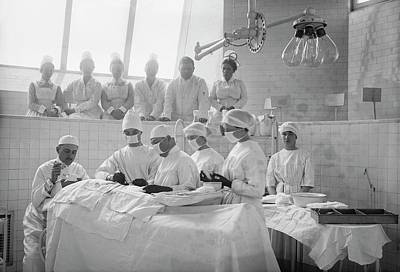 Surgical Lesson Poster by Library Of Congress