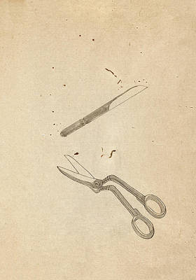 Surgical Tools Poster by National Library Of Medicine