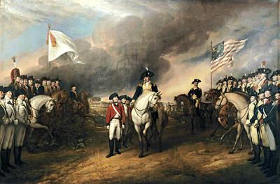 Surrender Of Lord Cornwallis Poster by John Trumbull