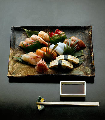 Sushi Poster by R. Marcialis