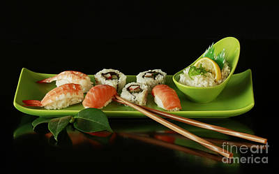 Sushi Seafood Indulgence Poster