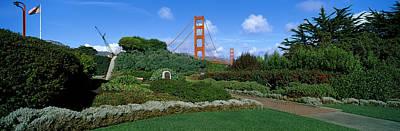 Suspension Bridge, Golden Gate Bridge Poster