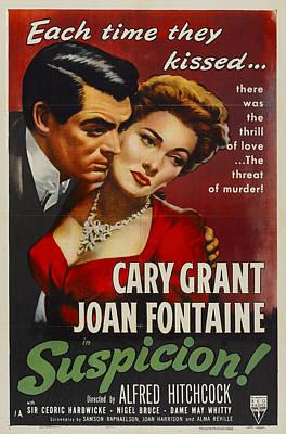 Suspicion - 1941 Poster by Georgia Fowler