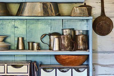 Sutler Store - Shelves - Wares Poster by Nikolyn McDonald