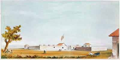 Sutter's Fort, 1847 Poster