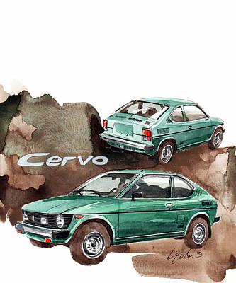 Suzuki Cervo Poster by Yoshiharu Miyakawa