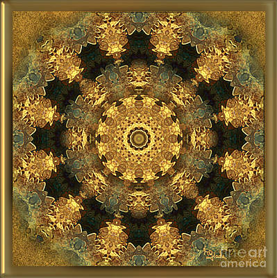 Svadhisthana Chakra Mandala - Spiritual Art By Giada Rossi Poster by Giada Rossi