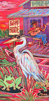 Swamp Boogie Poster