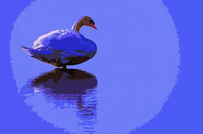 Swan Moon Poster