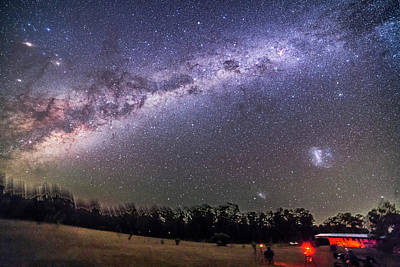Sweep Of The Southern Milky Way Poster by Alan Dyer