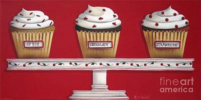 Sweet Delights Poster by Catherine Holman