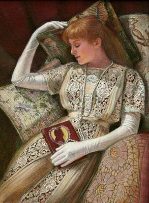 Poster featuring the pastel Sweet Dreams by Sue Halstenberg