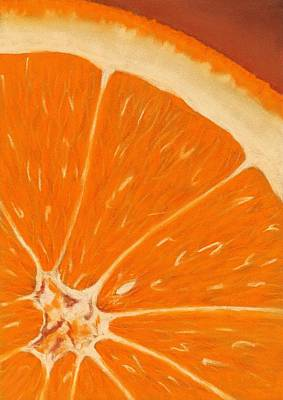 Sweet Orange Poster by Anastasiya Malakhova