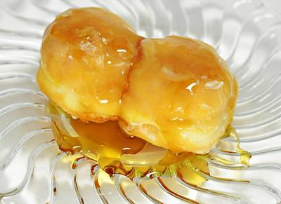 Sweet Pastry Donut Poster by Susan Leggett
