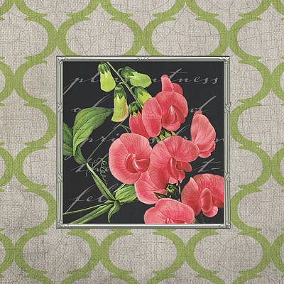 Sweet Pea Poster by Tammy Apple