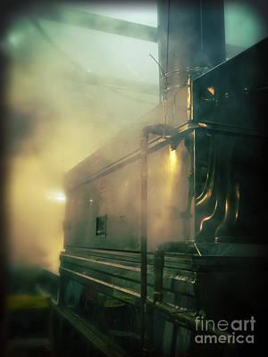 Sweet Steam Poster by Edward Fielding