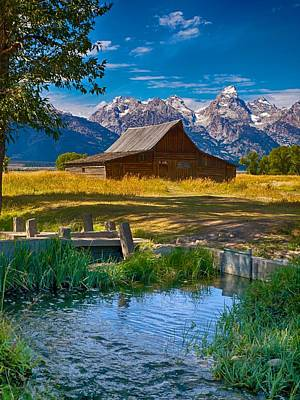 Sweet Teton Morning Poster