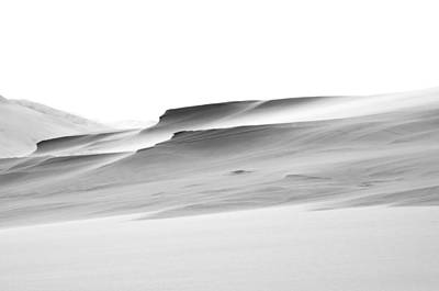Swiftly Moving Dunes Poster by Adria Trail