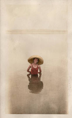 Poster featuring the photograph Swimming by Ron Crabb