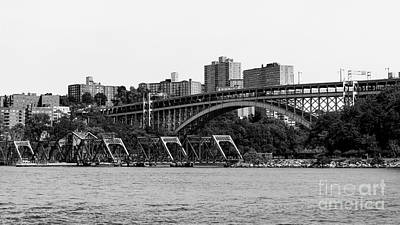 Swing Bridge In New York City Poster by Robert Yaeger