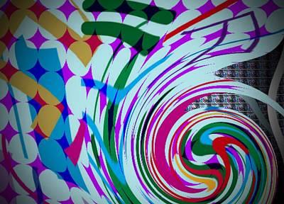 Swirl Poster by Kelly McManus