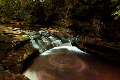 Swirling Water Poster by Haren Images- Kriss Haren