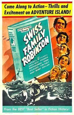Swiss Family Robinson, Us Poster Poster by Everett