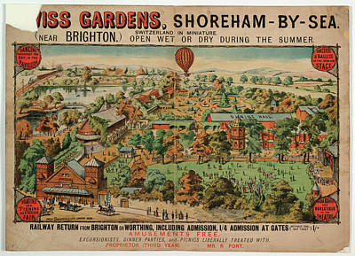 Swiss Gardens Poster by British Library
