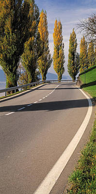 Switzerland, Lake Zug, View Of Populus Poster