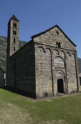 Switzerland. Ticino. Giornico. Church Poster