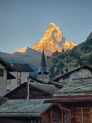 Switzerland, Zermatt, The Matterhorn Poster