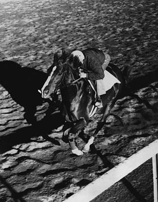 Sword Dancer Horse Racing Vintage Poster
