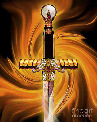 Sword Of The Spirit Poster by Todd L Thomas