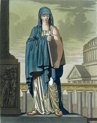 Sybil, Illustration From Lantique Rome Poster by Jacques Grasset de Saint-Sauveur