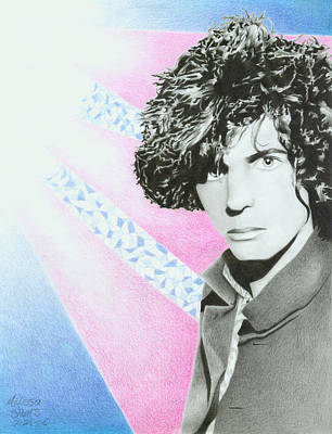 Syd Barrett Poster by Melissa Spears