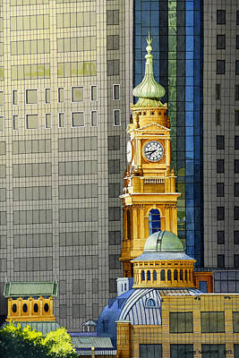 Sydney Clock Tower Poster