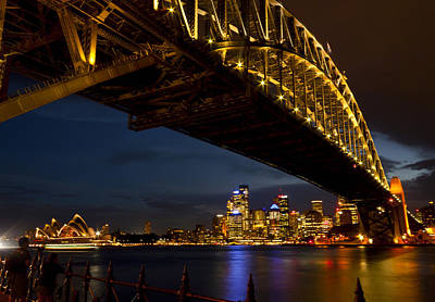 Poster featuring the photograph Sydney Harbour Bridge by Miroslava Jurcik