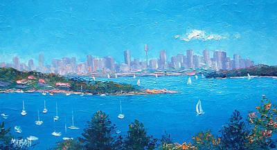 Sydney Harbour Sailing Poster