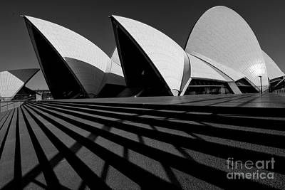 Poster featuring the photograph Sydney Opera House 02 by Yew Kwang