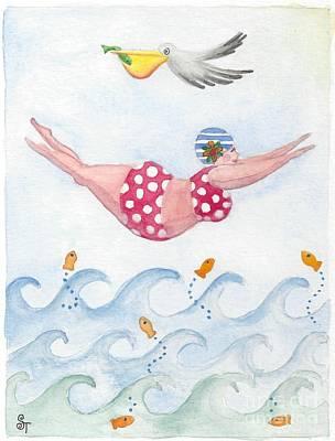 Sylvia Diving Poster